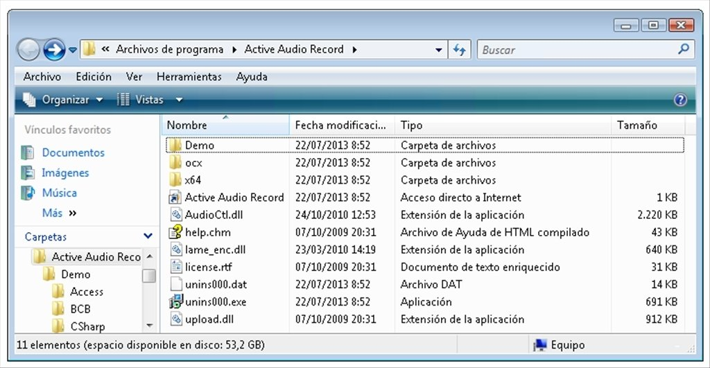 Software de diseno de sonido activo asd » tainalolpije. Tk.