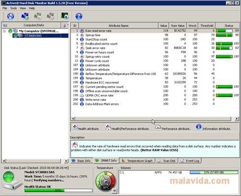 Active Hard Disk Monitor image 4