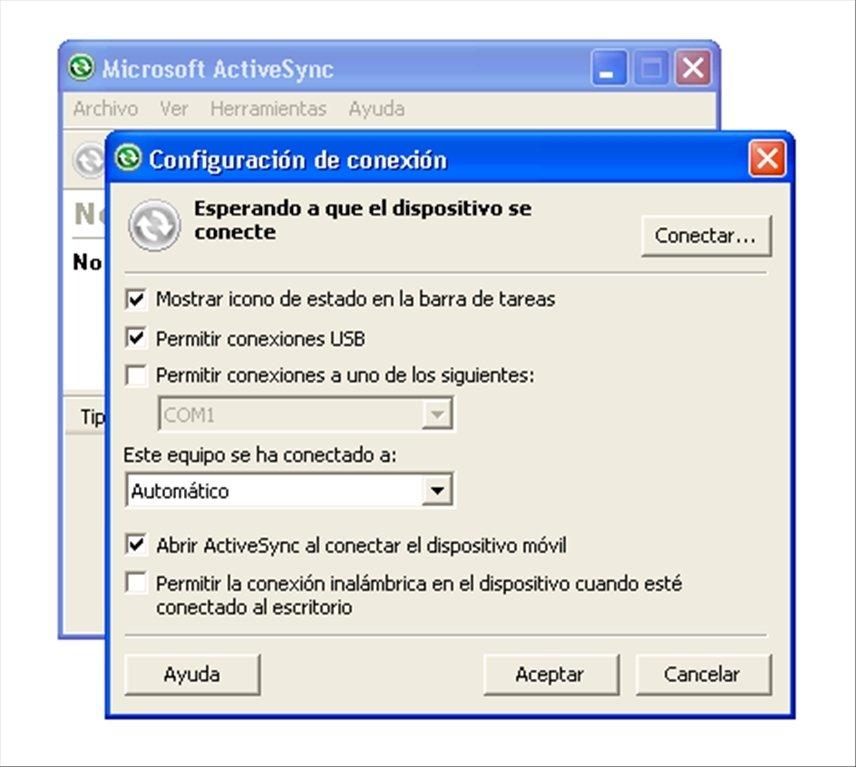 Программа ms activesync скачать бесплатно