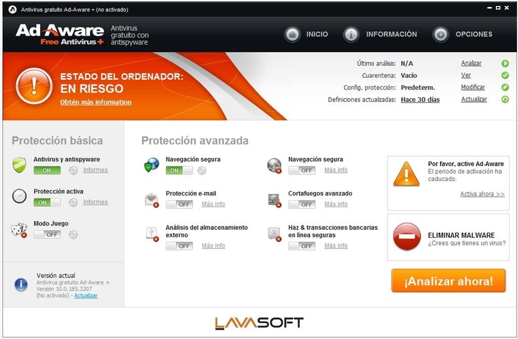 Ad-aware free antivirus and free antispyware download lavasoft.