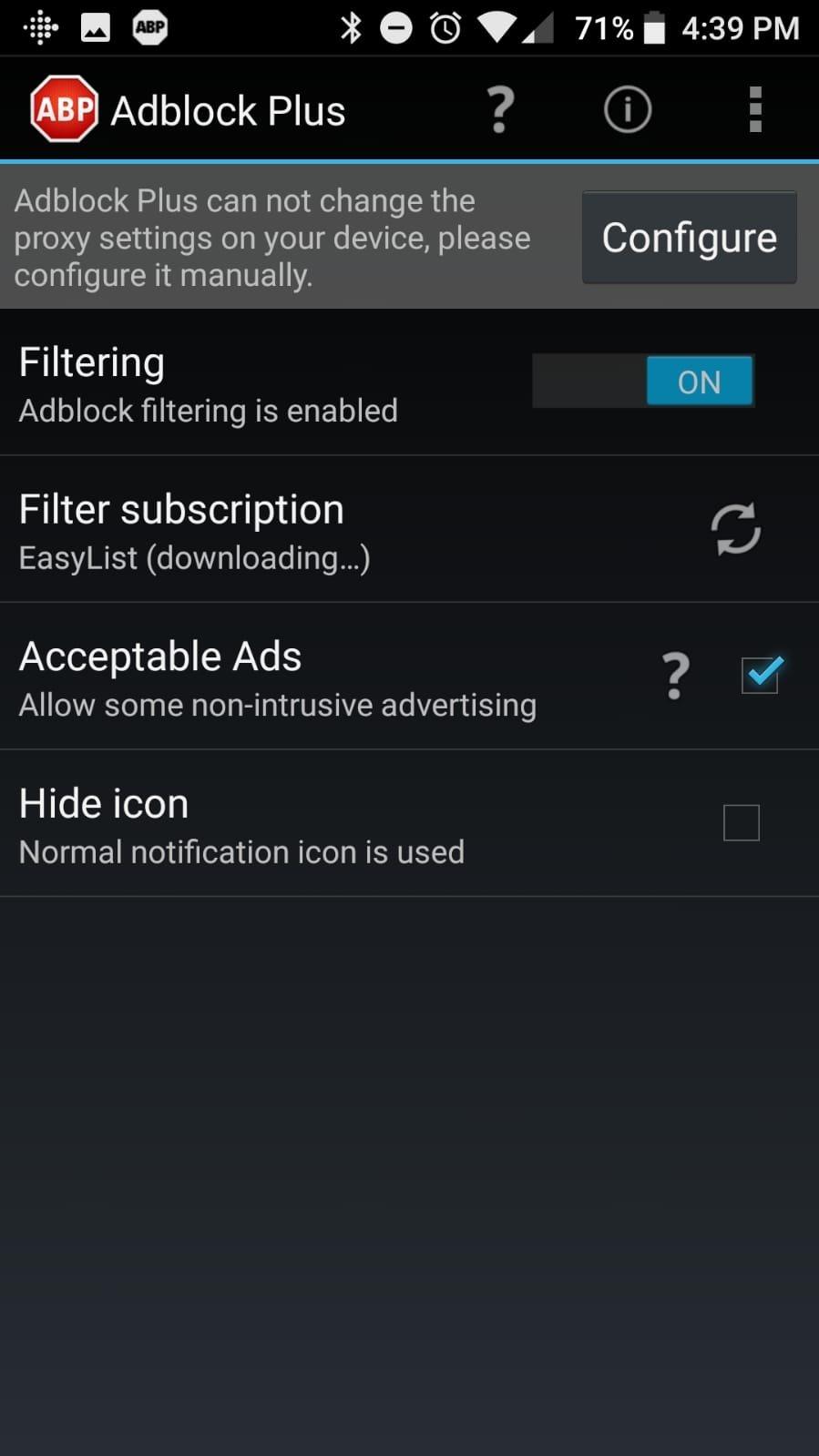 Adblock Plus Android image 2
