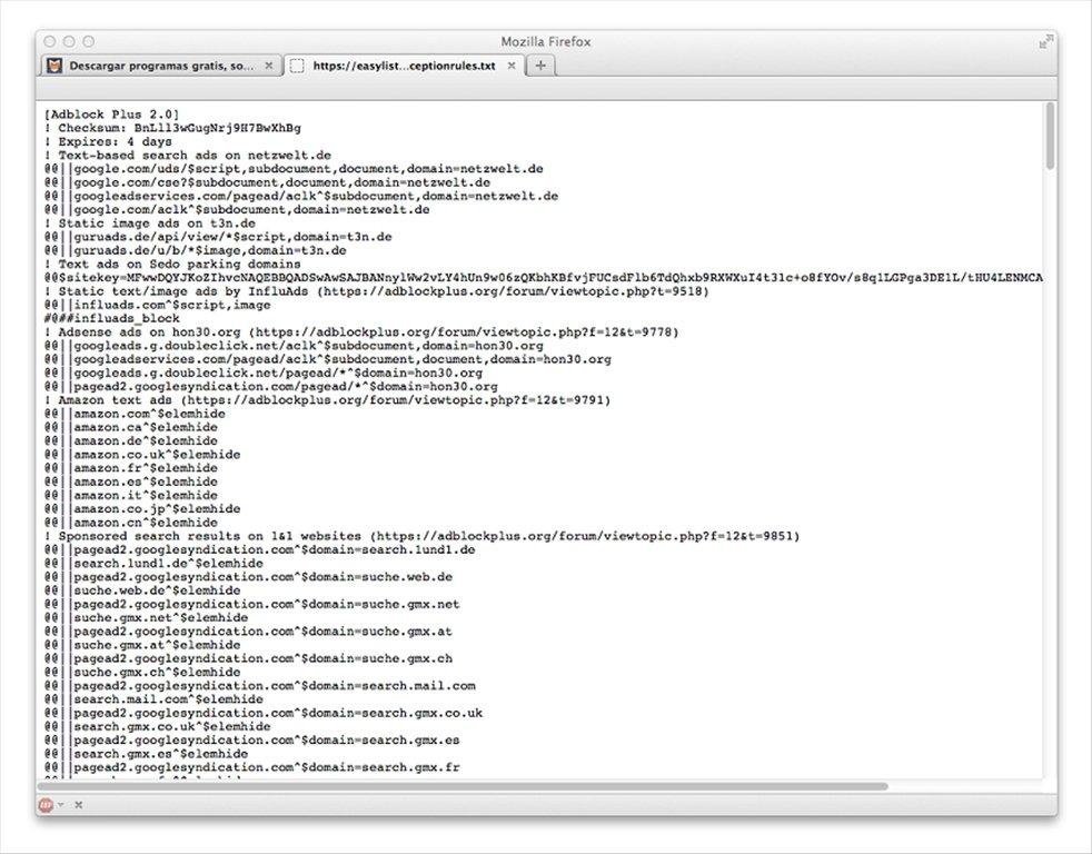 firefox adblock plus 3.4.2 1 internet tools