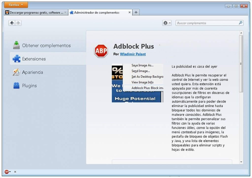block youtube ads on android with adblock plus
