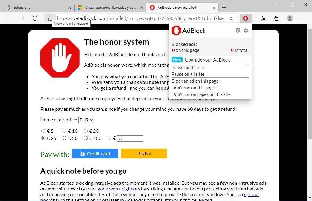 descargar adblock softonic gratis