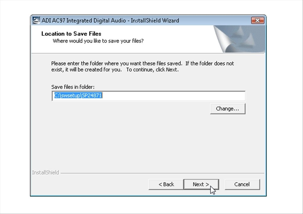 ADI SOUNDMAX INTEGRATED DIGITAL AUDIO DOWNLOAD DRIVER