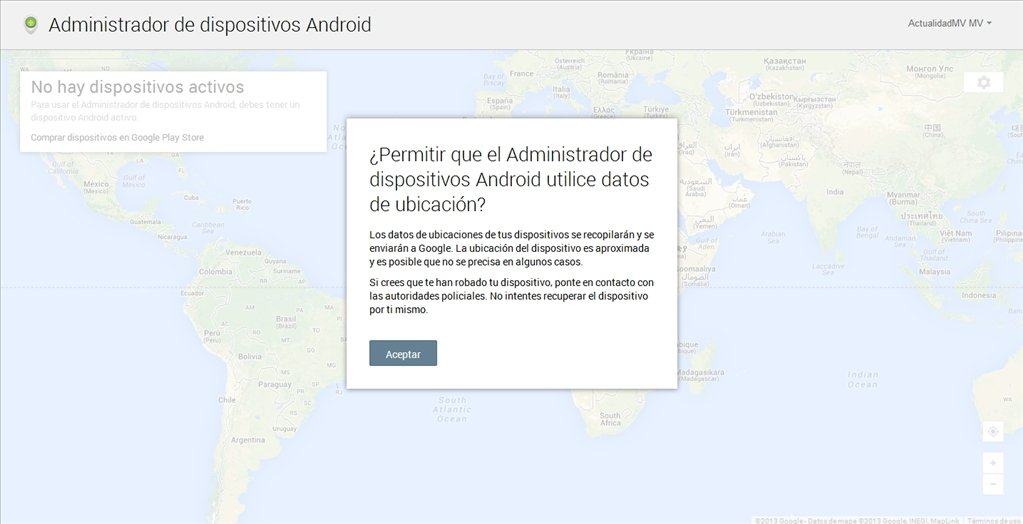 Gestionnaire d'appareils Android Webapps image 3