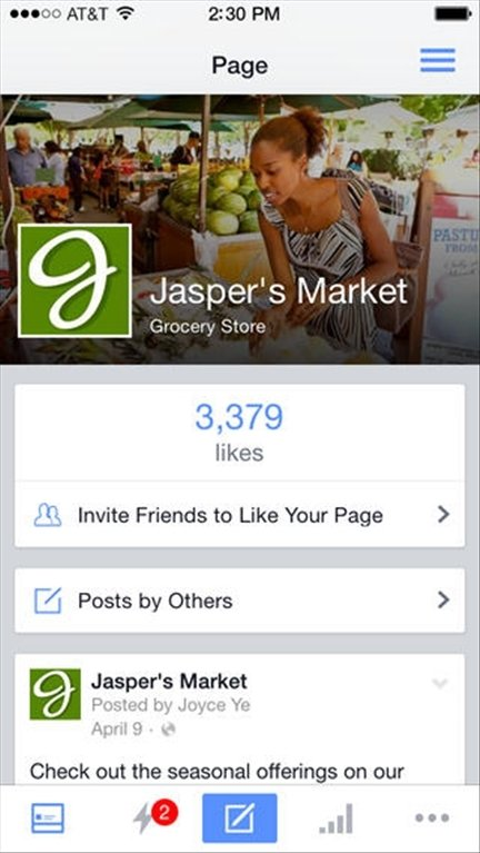 Facebook Pages Manager iPhone image 5