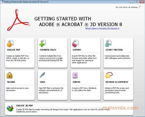 Adobe Acrobat 3D image 4