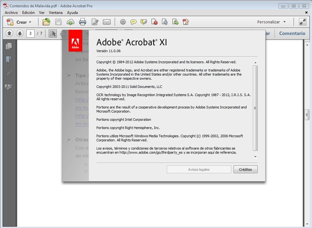 Adobe Acrobat Update 11 0 6 - Download for PC Free