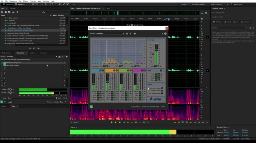 Download the latest version of Adobe Audition free in ...
