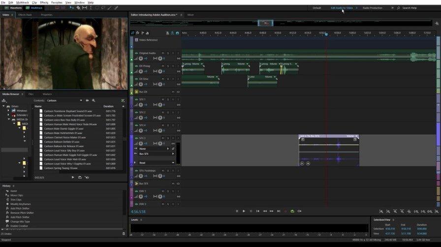 adobe audition video editor free download