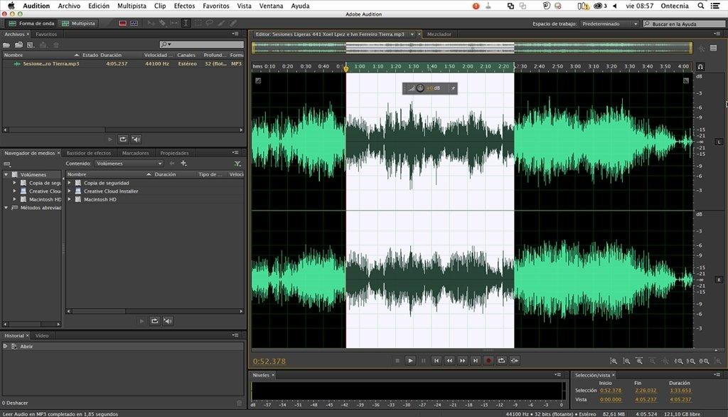 Adobe Audition Mac image 4