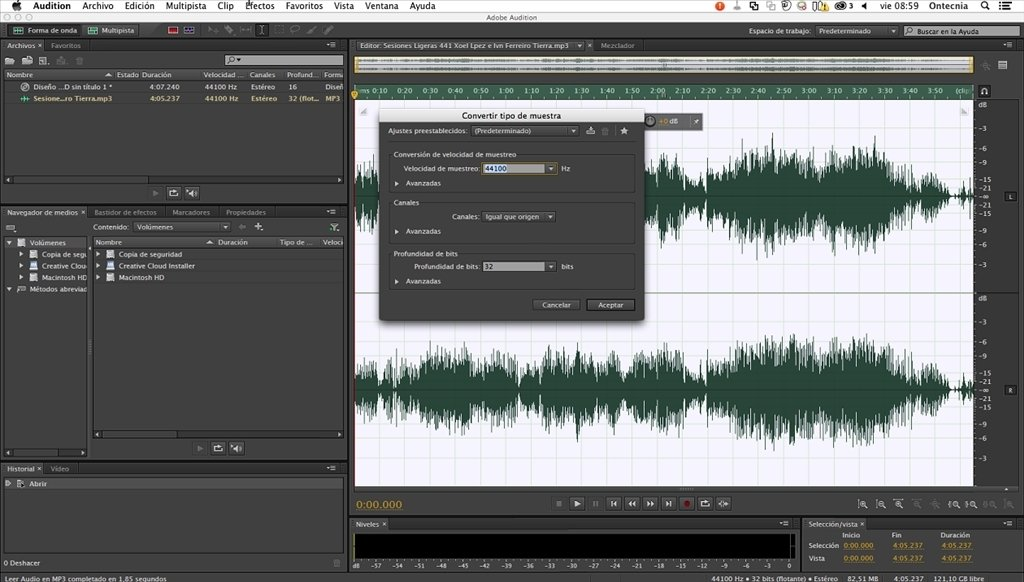 Features of Adobe Audition CC 2017 Mac