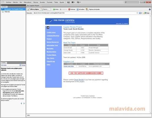 Adobe Contribute image 6