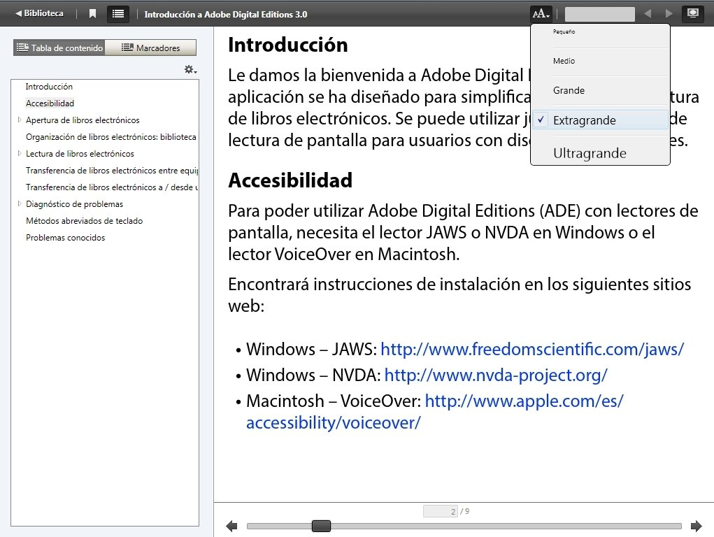 Adobe digital editions download.