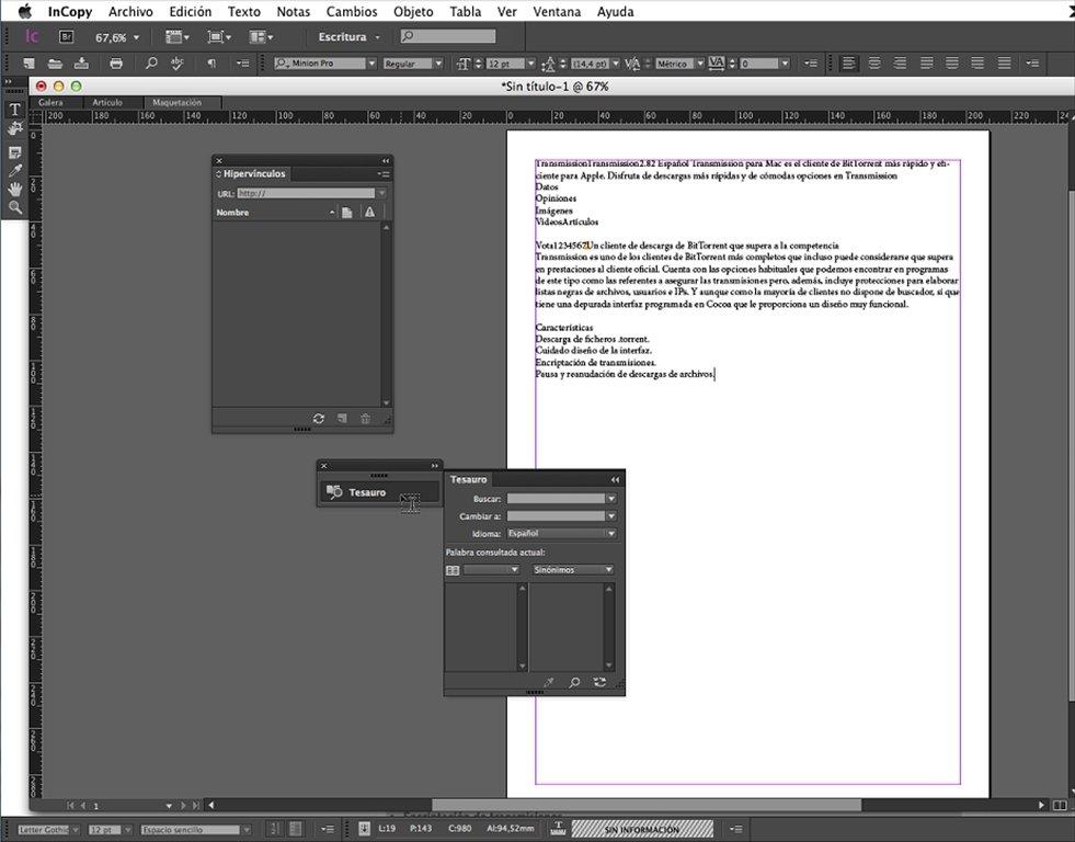 Descargar Adobe InCopy CC 2017 para Mac - Gratis en Español