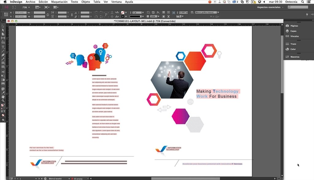 mac indesign