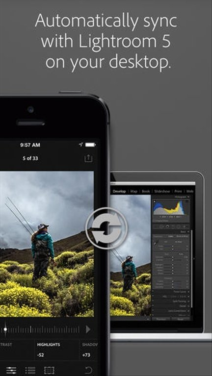 Adobe Lightroom iPhone image 5