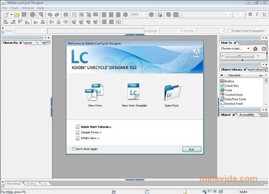 Adobe LiveCycle Designer image 4