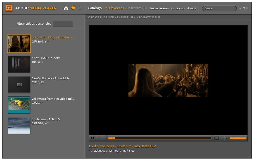 Adobe Media Player image 4