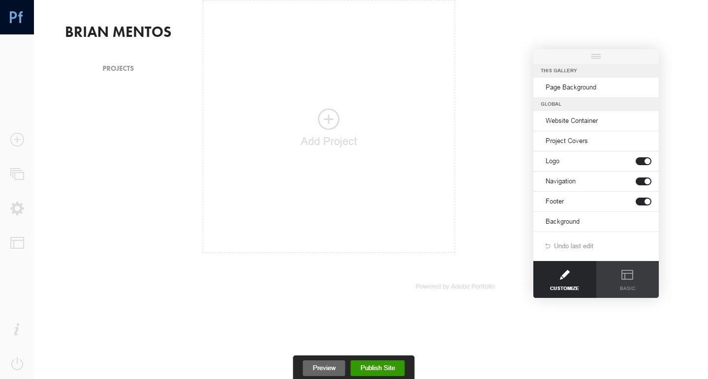 Adobe Portfolio Webapps image 5