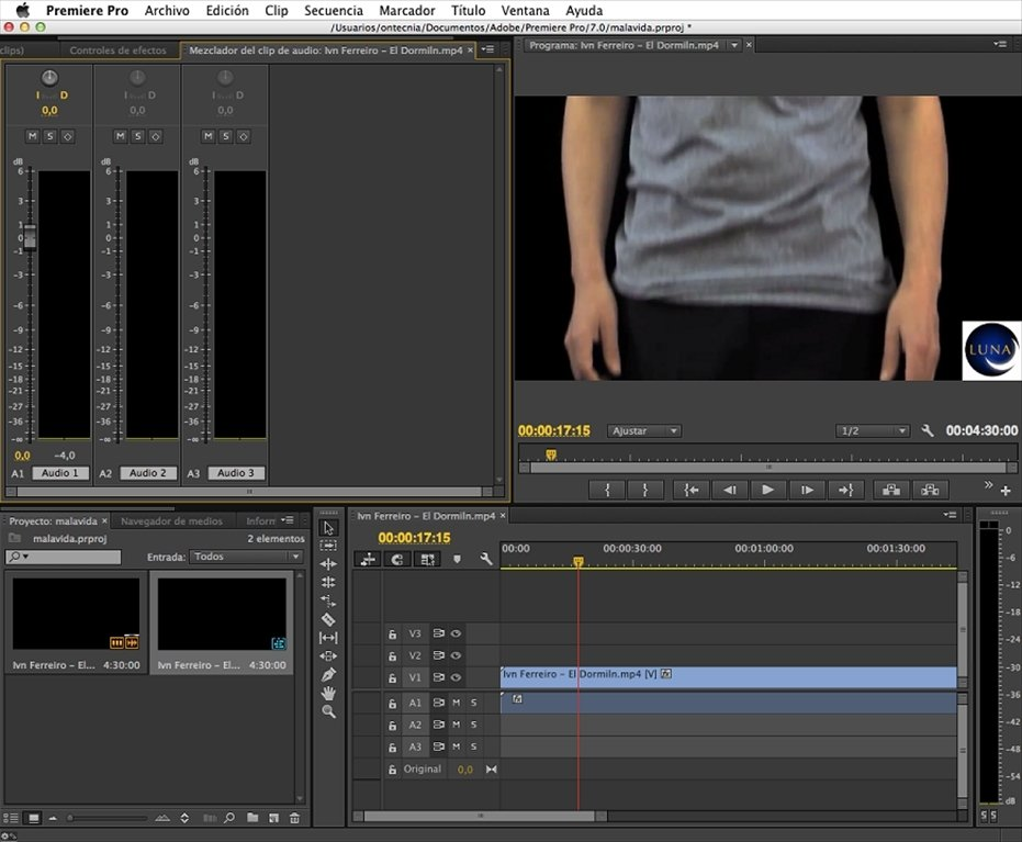 Adobe Premiere Pro Mac image 4