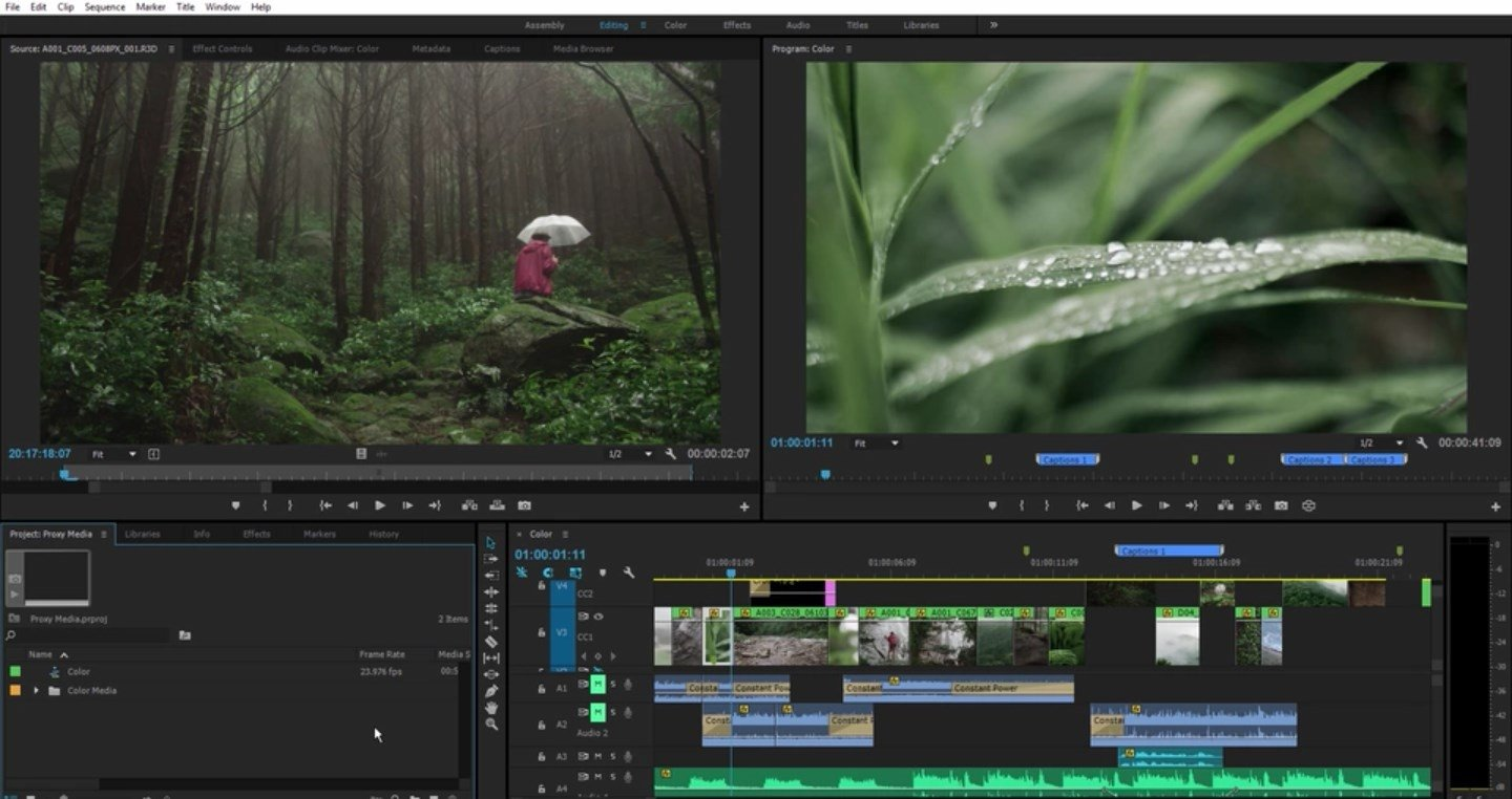 Description Adobe Premiere Pro CC 2018 v12 For Mac + Overview