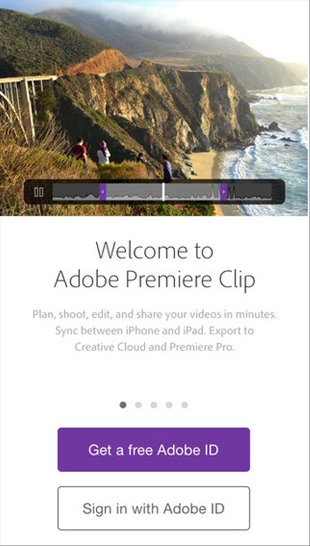 Adobe Premiere Clip iPhone image 5