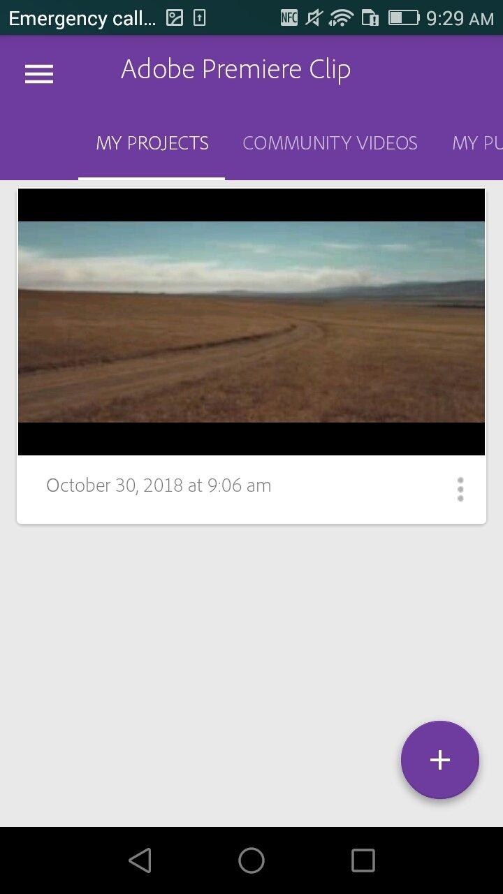 Adobe Premiere Clip Android image 5