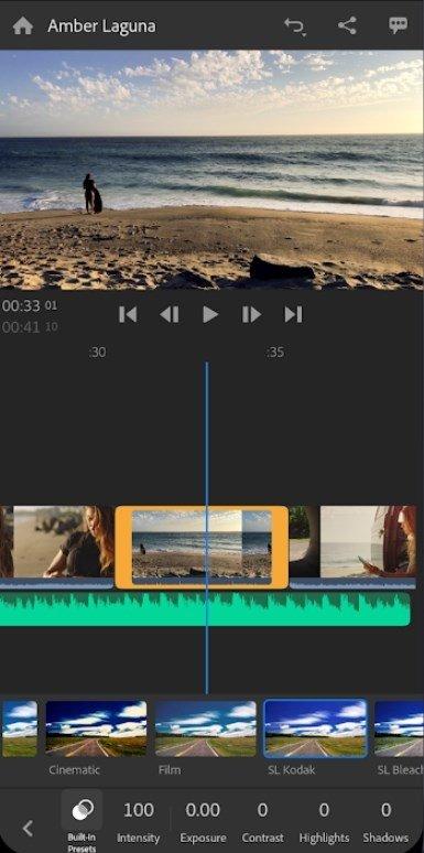 Adobe Premiere Rush 1 1 0 3057 - Descargar para Android Gratis
