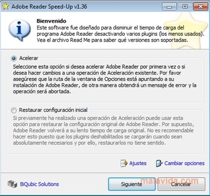Adobe Reader SpeedUp image 4