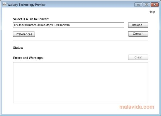 Adobe Wallaby 0 9d Prerelease 1 - Download for PC Free