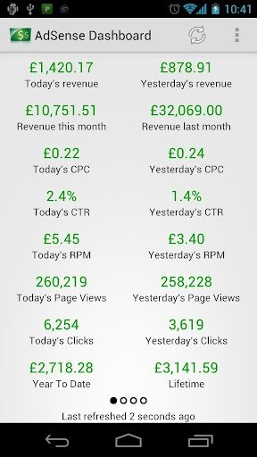 AdSense Dashboard Android image 8