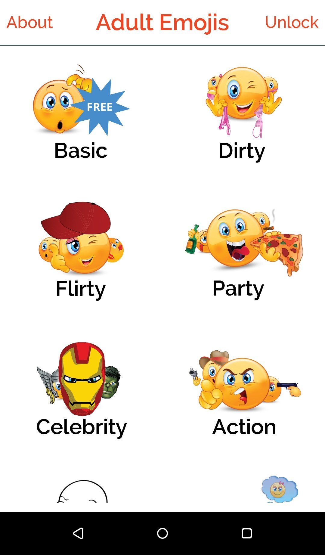 Adult Emojis & Dirty Emoticons 1 2 - Download for Android
