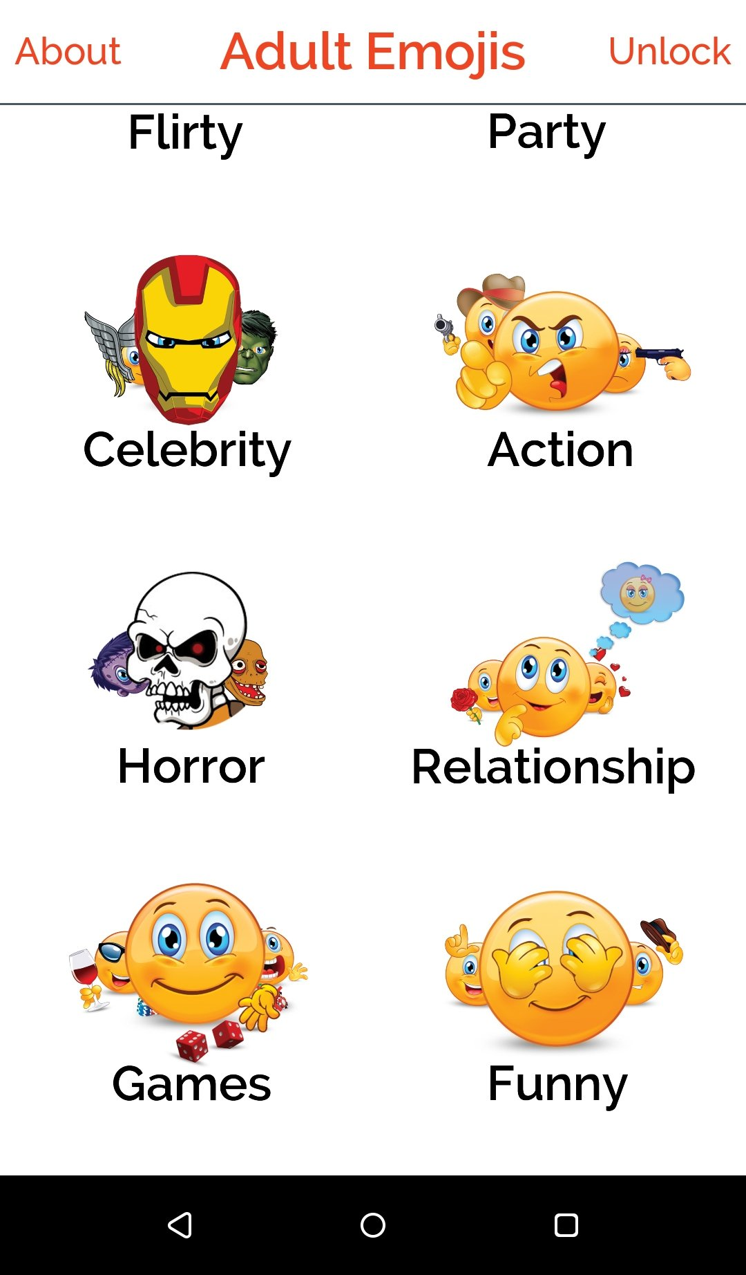 Adult download emoticon