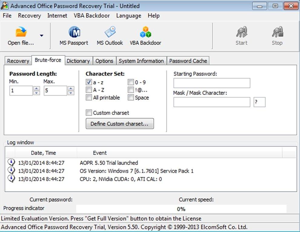 Advanced Office Password Recovery Key Generator