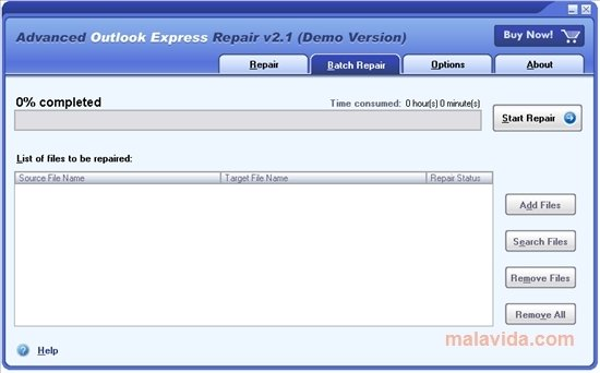 Advanced Outlook Express Repair image 4