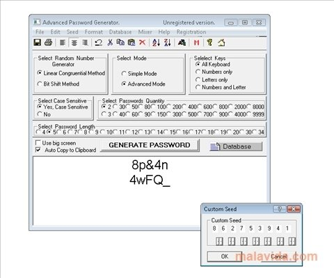 Advanced password generator 3. 51 download for pc free.