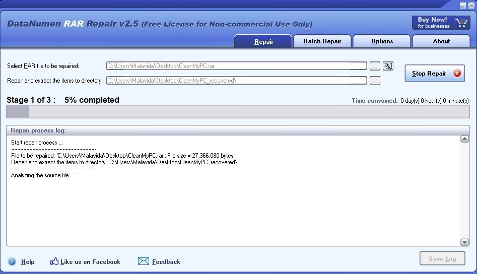 how to open corrupt rar files free