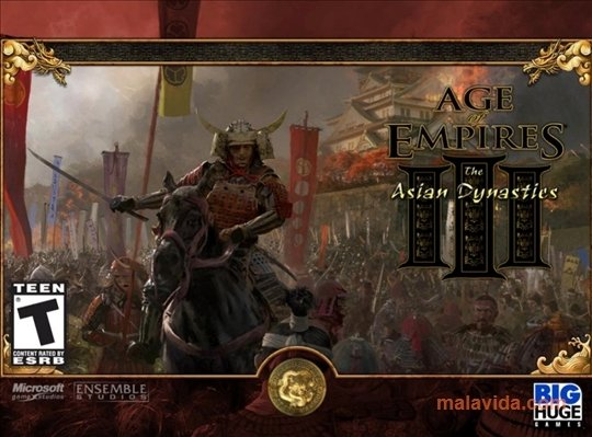 Kostenlos Age of Empires III: The Asian Dynasties - Spiele