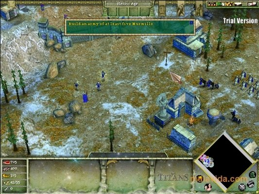 The Titans Age of Mythology Demo