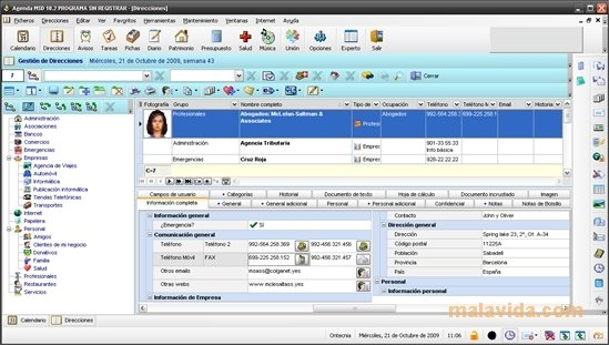 office organizer software. MSD Organizer Image 1 Thumbnail Office Software
