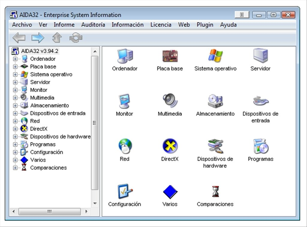 aida32 pour windows 7