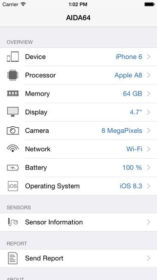 AIDA64 iPhone image 4