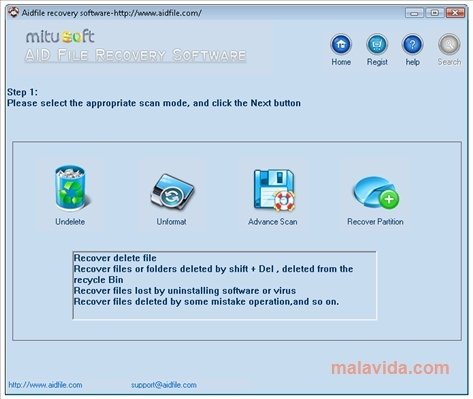 Aidfile Recovery image 3
