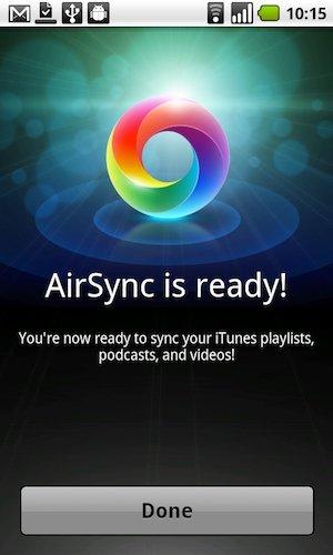 Télécharger AirSync Android gratuit