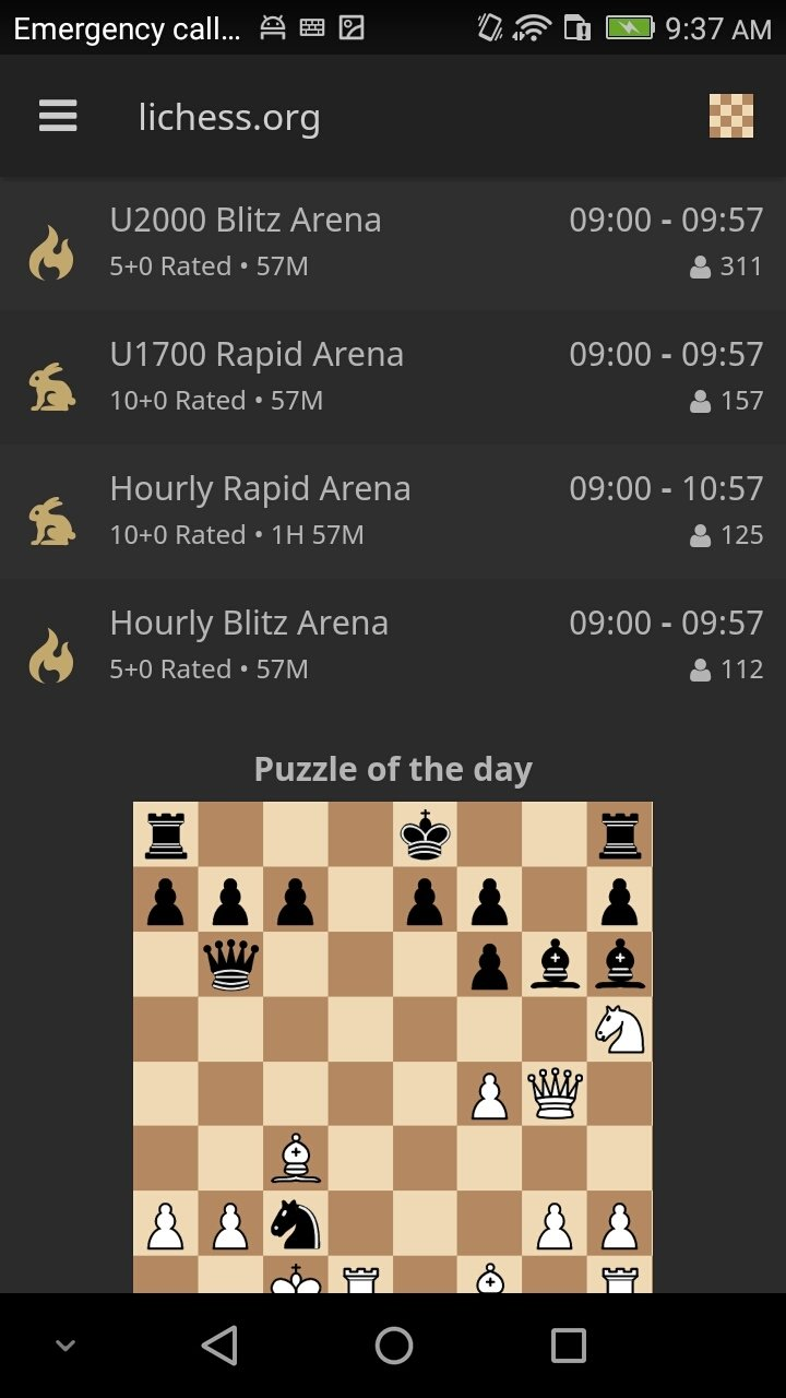 Chess - lichess 6 1 4 - Download for Android APK Free