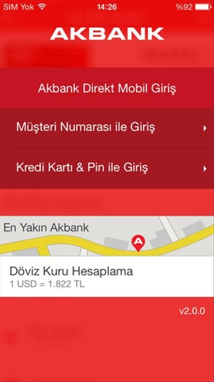 Akbank Direkt iPhone image 5
