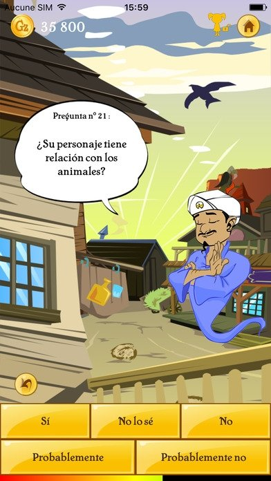 TÉLÉCHARGER AKINATOR THE GENIE FREE