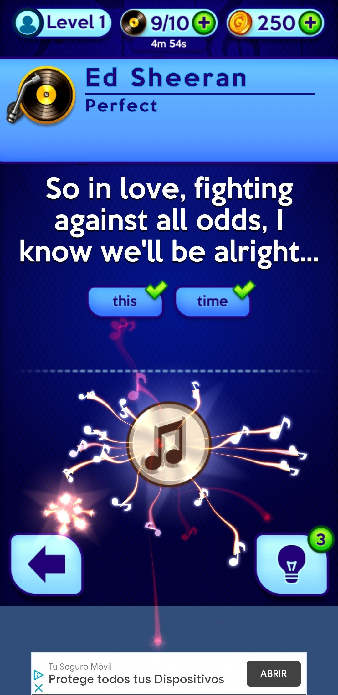 Don't Forget the Lyrics Android image 5